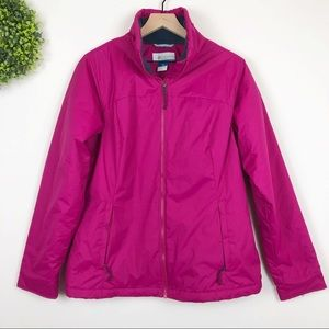 Columbia | Pink Many Paths Outdoors Jacket M